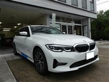 BMW 3シリーズ G20にソニックプラスの取付です。