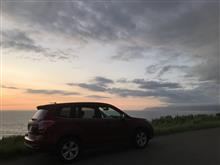 2020.07.12(日)フォレスターで夕陽