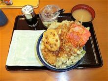 西名阪自動車道下り香芝SA ヤマトポーク天丼780円