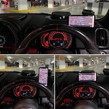 F系MINI専用 マグネット式スマートフォンホルダー