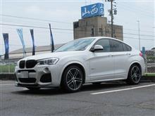 メンテナンスは大事...BMW X4 エンジンオイル+エレメント交換 4CT-S