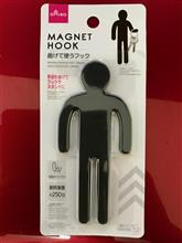 ダイソーで見つけた人型磁石フック