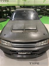 BNR32 GT-Rにカーボンボンネットを取り付けたい