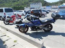 猛暑の中、伊良湖へツーリング・・・FJ1200