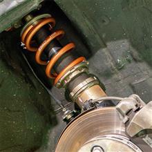 【ビート】フロントスプリング変更 9k 152mm→10k 127mm