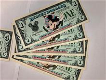 ディズニー発行の紙幣