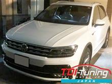 【VW ティグアン(TIGUAN)TDI ディーゼル LDA-5NDFGF CRTD4® TDI Tuning サブコン】インプレ頂きました!