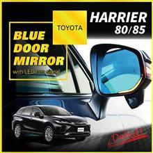 トヨタ ハリアー用LEDウィンカー付きブルードアミラー予約販売開始!