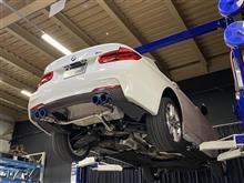 BMW 320d ワンオフマフラー製作