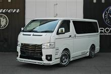 新車6型 ハイエース ROWENフルコンプリート 埼玉ご納車!