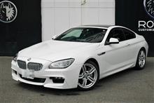 中古BMW650i M-sport クーペ 店頭納車! インポートカーもPLATINUMROADにお任せ!