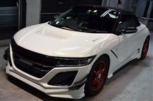 「新車から」ホンダ S660のガラスコーティング【リボルト神戸】