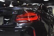 「お付き合い」BMW  M2のガラスコーティング【リボルト神戸】