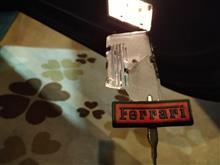 NSXドアのランプ
