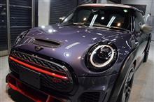 「限定車+2シーター」ミニ ジョン・クーパー・ワークスGPのガラスコーティング【リボルト神戸】