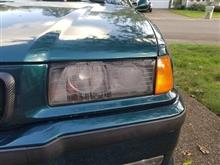 E36 M3 ヘッドライト結露
