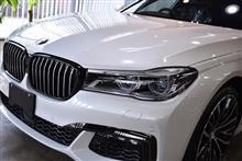 【板金塗装後はコーティング】BMW 750iのガラスコーティング作業【リボルト千葉】