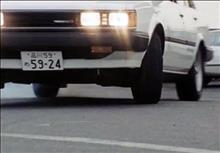 覆面車 AA63 カリーナセダン1600GT-R
