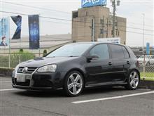 再び..VW ゴルフⅤ R32 ブレーキパッド交換 ATEセラミックパッド