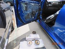 [エクシーガtS] 後編・carrozzeria TS-J160A への交換(フロントスピーカー)