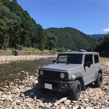 ソロ林道探索と温泉@ジムニー