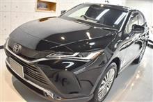 元祖高級SUV。トヨタ・ハリアーのガラスコーティング【リボルト埼玉北】