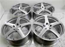 新品SSR-GTV01-19インチ鋳造ホイールのバレル2次元研磨ブラッシュドパウダーアクリルクリアー