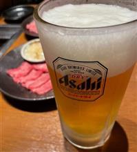 生ビール大を片手に 焼肉パーティ🍖🍺😆