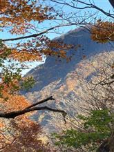 10月31日② 荒船山から生島足島神社、戸隠へ