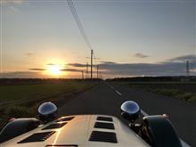 2020.10.31(土) セブンで超短距離夕陽ドライブ(ハズレ😢)
