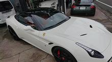 フェラーリ カリフォルニアT バンパー修理 コーティング!!
