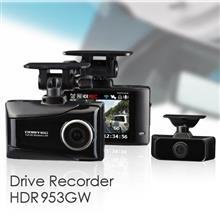 前方と車内を同時に録画 無線LAN搭載でスマートフォンと連携可能 HDR953GW 発売