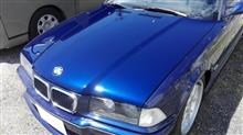 30%OFF!! 20周年記念! BMW クリアー剥げ 塗膜剥離 金額重視 磨き 板金塗装 愛知県豊田市 倉地塗装 KRC