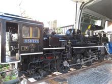 C58277蒸気機関車の整備の巻っき~
