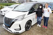 セレナ℮-パワー新車コンプリートカーを製作、ご納車させていただきました!PLATINUMROAD豊田店にて
