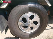 タイヤがキレイだと、車全体がキレイに見える!