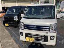 バンとワゴン 2台購入~!! エブリイ DA17V/W