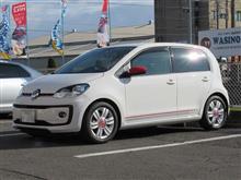乗り心地改善...VW Up COXボディーダンパー