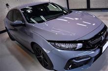 イギリス生まれの日本車。ホンダ・シビックハッチバックのガラスコーティング【リボルト金沢】