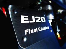 """乗り換えたのにまたWRX STI。""""あんたも好きね~""""と思ったら、555台限定の""""スバル WRX STI EJ20 Final Edition""""でした!!"""