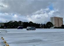 寒波と雪 折尾駅2 映画の世界