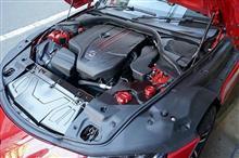 トヨタ スープラ【DB#2】用ドライカーボン製リザーバータンクカバー予約販売開始!