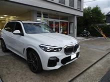 BMW X5にソニックプラスの取付です。