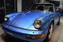 「3台目」ポルシェ 911(964)のガラスコーティング【リボルト神戸】