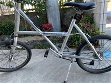 自転車のタイヤ&ブレーキ交換