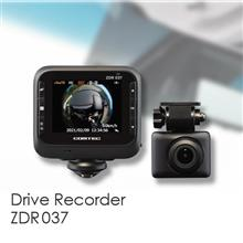 360°カメラ+リヤカメラ搭載 前後2カメラドライブレコーダー ZDR037 発売