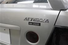 TOYOTA アルテッツァ のカーボン施工です!