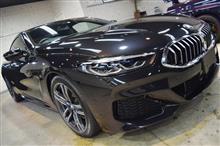 「堂々たるBMWの粋」BMW 840dのガラスコーティング【リボルト松本】