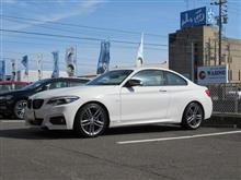 快適に乗るには、BMW F22 ミシュランPS4 225/40&245/35R18