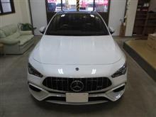 Mercedes-AMG(メルセデスAMG) CLAクラス シューティングブレーク(X118)CLA45 S 4マチック+ シューティングブレーク、採寸&装着確認(完成)